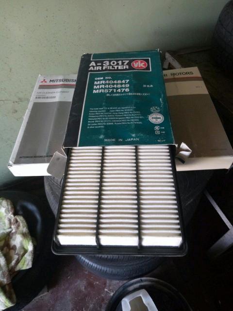 Мицубиси паджеро V78W дизель, продам воздушный фильтр оригинальный ЯПОНИЯ!