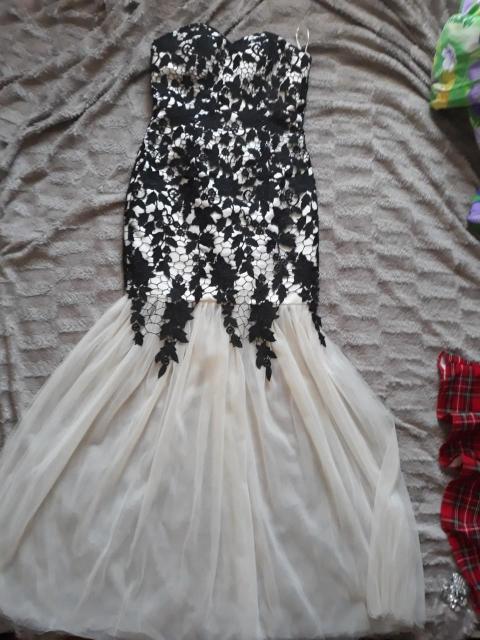 продам вечернее платье в пол р-р 44