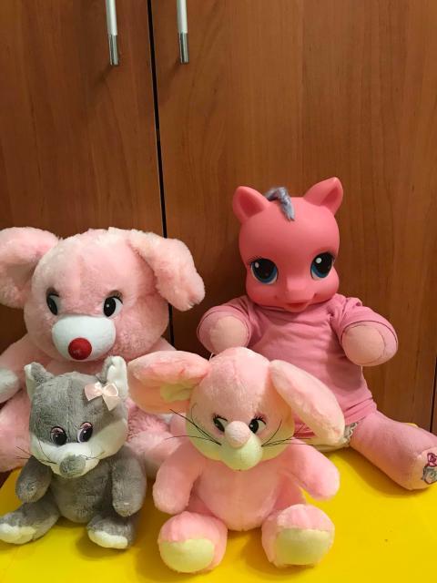 Мягкие игрушки все за 300 руб