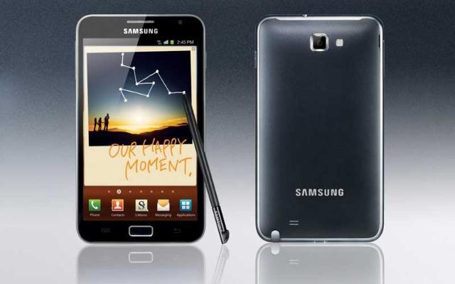 """Производитель:Samsung Samsung Galaxy Note N7000(новый) Процессор: 1400 Мгц (2-ядерный), граф.процессор Память: 16 Гб 32 Гб, 1 Гб RAM, microSDHC, microSD Платформа: Android 2.3 Аккумулятор: 2500 мА*ч Li-Ion, 26.17 ч разг.(GSM) Экран: 5.3"""", сенсорный, 1280x800, емкостный, Super AMOLED Камера: 8 мпикс, 3264x2448, 4X цифр зум, вспышка, детектор лиц Вид: Моноблок, 178 г, 146.9x83x9.7 мм Особенности: 1400 Мгц 2-ядерный процессор граф.процессор Нецарапающееся стекло, HD разрешение экрана (1280x800) Встроенный барометр, большой сенсорный экран (5.3"""") Съемка Full HD видео (1080p), 1 Гб оперативной памяти 26.17 ч разговора в сетях GSM Телефон абсолютно новый в коробке п"""
