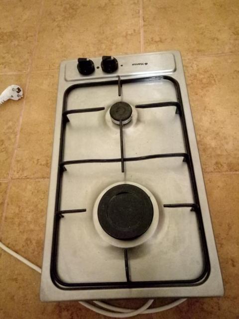 Продается встраиваемая газовая плита с пьезоподжигом на 2 конфорки