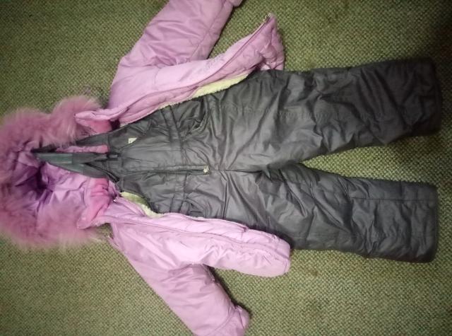 Детская куртка пуховик+штаны. рост 98.Очень теплый, хорошее состояние.Только ватсап