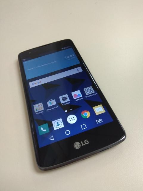 """Продается LG K8 K350E смартфон с Android 6.0 поддержка двух SIM-карт экран 5"""", разрешение 1280x720 камера 8 МП память 16 Гб, слот для карты памяти 3G, 4G LTE, Wi-Fi, Bluetooth, GPS объем оперативной памяти 1 Гб аккумулятор 2125 мА?ч Цена: 6000р Тел: 79142734411"""