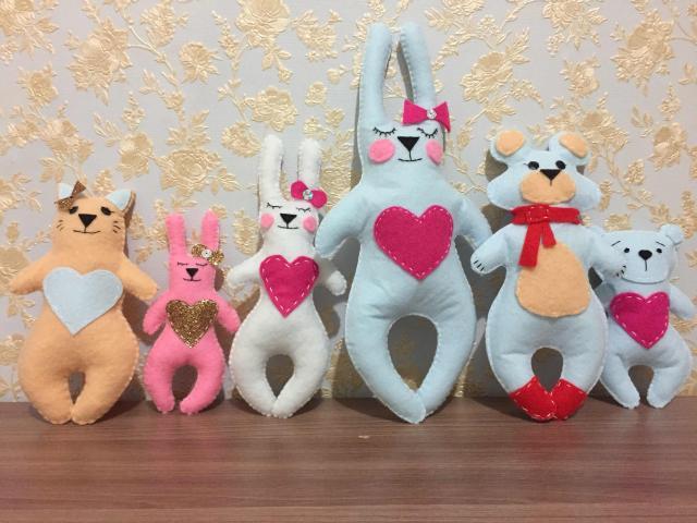 продаю замечательные игрушки из фетра ручной работы😍 цены начинаются с 60 рублей. страница в инстаграме: toys_fetr_ykt