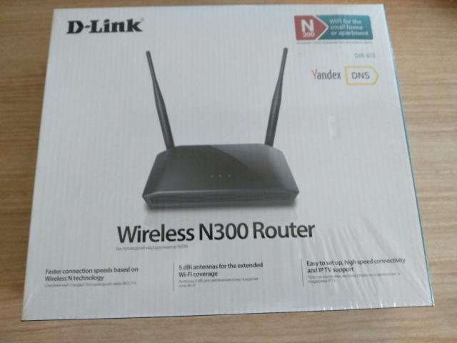 Продам роутер D-Link wireless N300 новый в упаковке, в магазине стоит 1700р., 4 порта, скорость беспроводной связи 100 мбит сек., максимальная скорость до 300мбит сек., стандарт беспроводной связи 802.11n, частота 2.4ГГц, Мощность передатчика 15 dBM, сильный сигнал вайфая, подойдет для большой так и для маленькой квартиры.