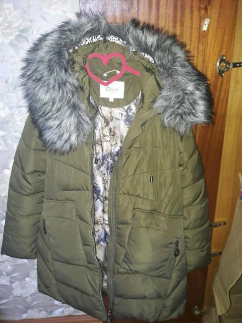 Продаю зимнюю куртку в отличном состоянии размер 44-46
