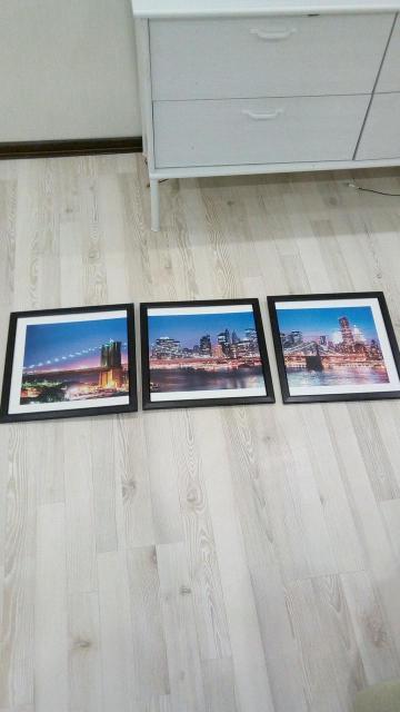 Картины можно использовать под другое фото как рамку под стекло