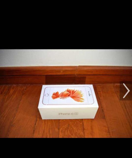 Продаю пустую коробку от айфон 6s gold