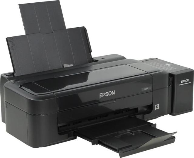 Продаю принтер Epson L132 для дома, небольшого офиса, 4-цветная струйная печать с СНПЧ, макс. формат печати A4, печать на глянцевой бумаге, конвертах, матовой бумаге, фотобумаге