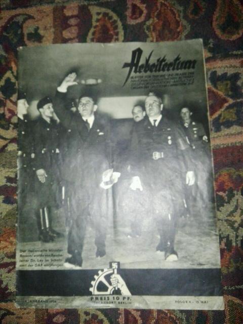 Журнал 3 рейха 15 мая 1936 года