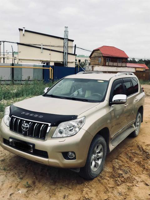 ТЛК Прадо 2012гв,пробег 35т км,ГБО зарегистрирован,ОТС,кожаный салон,ТВ 3шт,камеры з/х,п/в,летние резины,стоит в теплом гараже