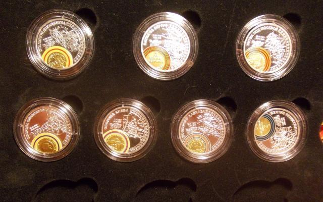 """Монеты """"Великая победа"""", 7 шт. серебро. Торг"""