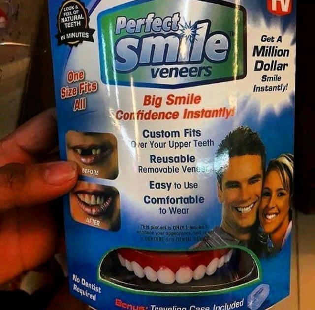 БЕЛОСНЕЖНАЯ УЛЫБКА в одно мгновение!!❗Читайте далее❗ ⬇ ⬇ ⬇ ⠀⠀ ❌Зубы утратили белизну эмали? ❌Неровные зубы или большие промежутки между зубами? ❌Отсутствует один или несколько зубов, сколотые зубы? ⠀⠀ 👉🏻 Perfect smille venners – уникальное приспособление, которое сделает вашу улыбку неотразимой. С помощью него вы перестанете стесняться своих зубов и сможете улыбаться так часто, как этого захотите.Ваша улыбка будет нравиться всем!😻 ⠀⠀ ✅Устанавливаются без боли и обточки зубов! ✅Гипоаллергенный материал и фиксатор! ✅Идеально ровные и белые зубы! ✅Надежное крепление 24/7! ✅Универсальный размер!