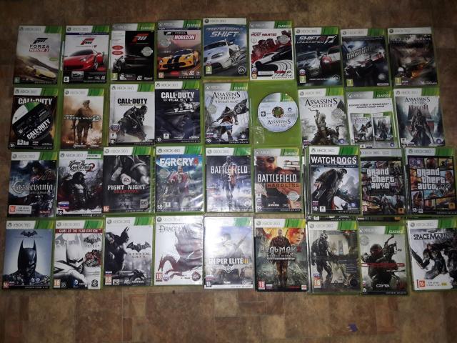 Продаю лицензионные диски для Xbox 360. Цены от 500 до 2000