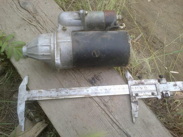СТ 362 А 12В Стартер пускового двигателя-1000р. на газ66 комрессор старого образца-1000р   - т702-142