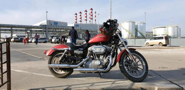 Harley Davidson sportster 883 Год 2004 Красный эгоист  Пробег 15т.км один хозяин  Объем 883куб  Воздушная охлаждение  5-ти КПП Привод ремень  Отличном состоянии  Возможен обмен на авто  Цена 330т.р