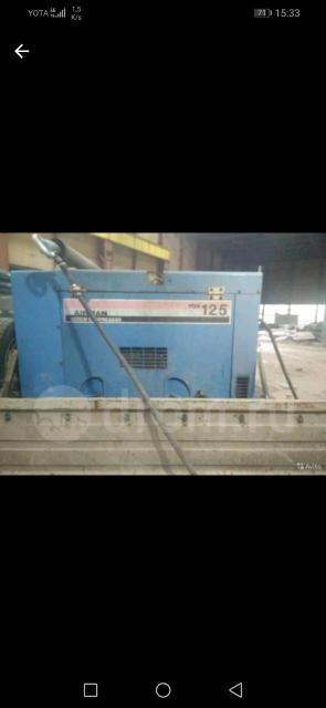 Услуги компрессора (дизель) 7 атм., с молотками, длина шлангов до 100 м. опрессовка.
