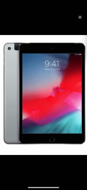 Продам iPad mini 4 64gb SIM card WiFi идеальное состояние полный комплект, оригинальный смарт чехол, стекло доп стоит. 20 тыс 79679108000