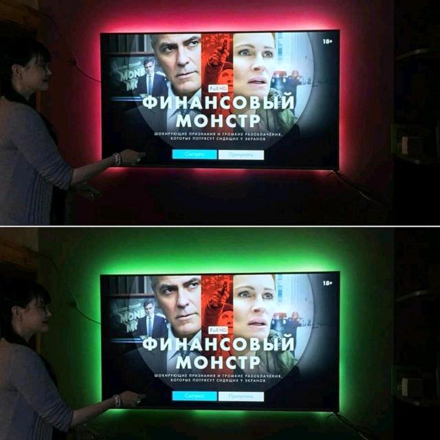 Продаю ргб ленту для телевизора подключается через юзб порт, длина 3 метра
