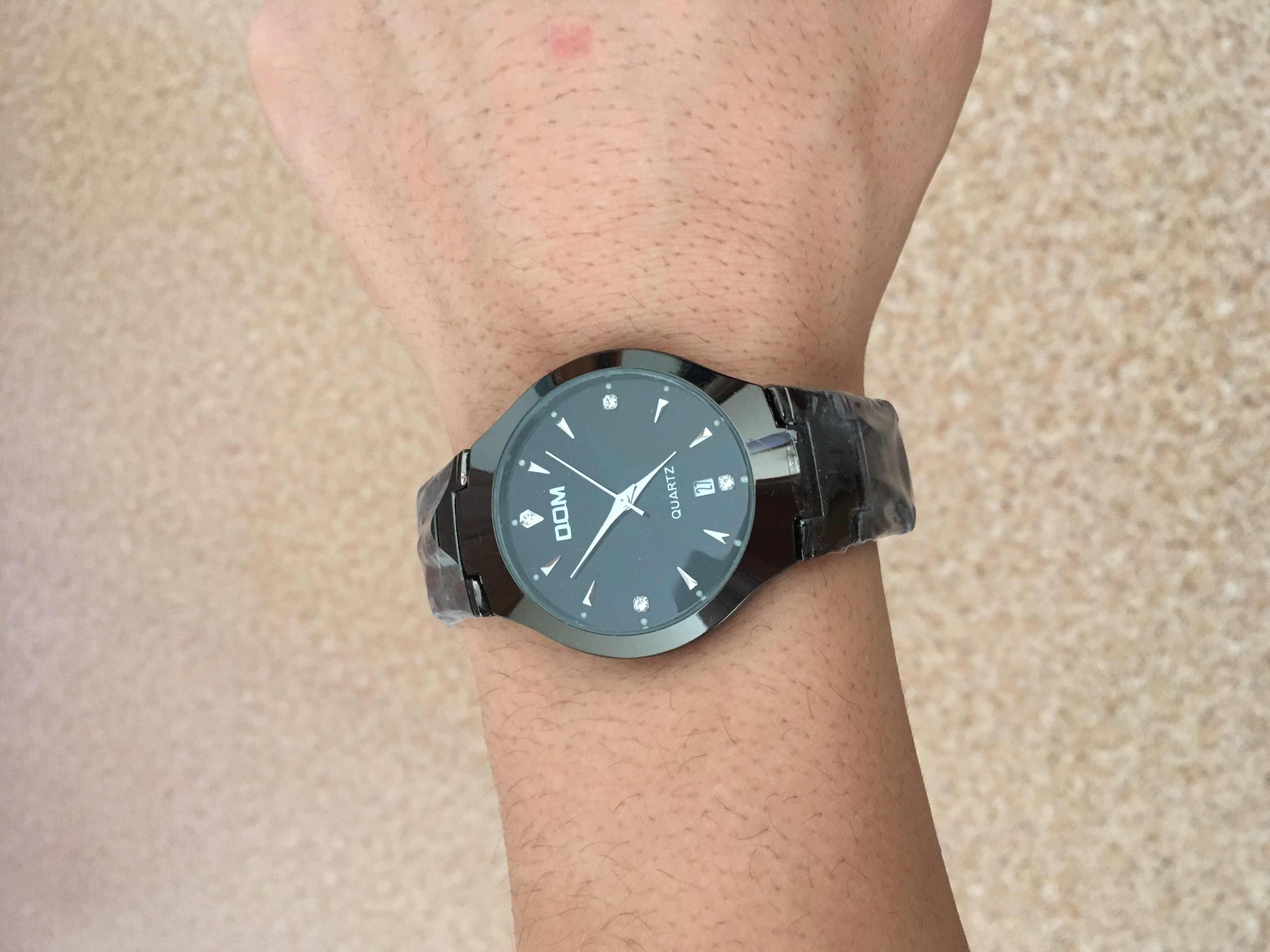 aebe825c Продаю мужские Часы DOM .Очень хорошие ,надёжные часы.+ нож кредитка в  подарок 👍Неубиваемые часы DOM выполнены из вольфрамовой стали и оснащены  долговечным ...