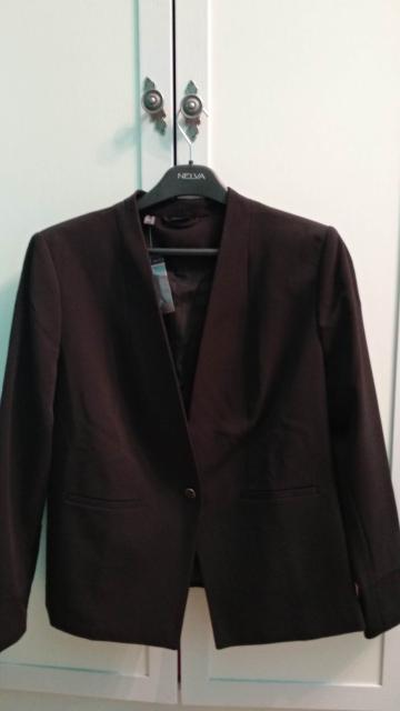 Продам новый пиджак, черный, 54-56 разм.