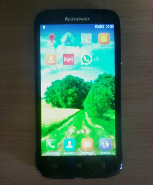 продаю телеыон Ienovo A859, рабочий , нет зарядника , 3G