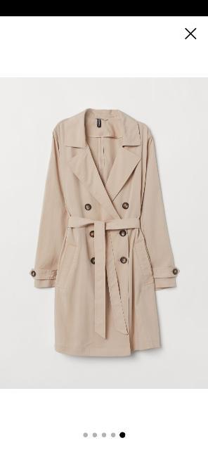 Продаю абсолютно новый, модный, лёгкий тренчкот от H&M по цене бренда. Подходит на 46 размер, подойдёт на прохладные летние вечера, да и сейчас можно одевать