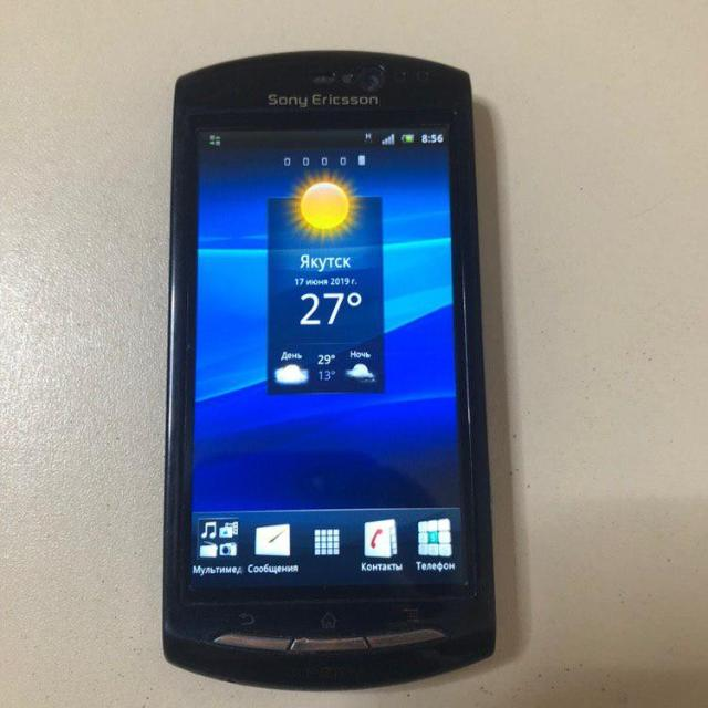 """sony xperia MT11i состояние 9из10 современный телефон  пойдет для звонков android 2.3 батарею держит хорошо В наличии на ул. Рыдзинского 24 ТД """"Якутяночка"""" ЦЕНА:1000рублей. к.т.: 89142734002"""