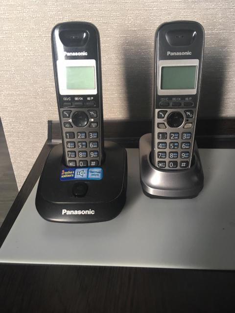 Радиотелефон Panasonic KX-TG2512 2 трубки