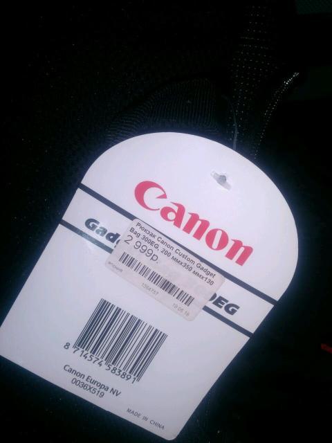 Новый рюкзак для фотоаппарата