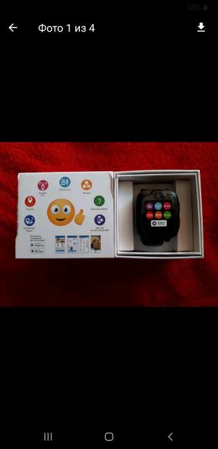 Отличный подарок. Оригинал. Для безопасности вашего ребенка, для отслеживания местонахождения , для прослушки с кем говорит,его окружение. С сим картой, голосовой помощник, трекер, геолокация,звонки,смс, видеозвонок, аудимониторинг( слышать его и его окружение),кнопка sos, камера,цветной. Для ios и андроид. Можете настроить его смарт часы со своего смартфона(н-р с без звука ставить на звучный итд). Но сам смарт часы работает самостоятельно с собственной сим картой. Торг. Дешевле чем в магазинах,сэкономите на 2000р.