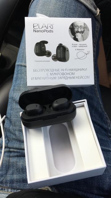 За ПОЛ цены Продаю совсем почти новые наушники Elari nano pods, причина подарили AirPods )