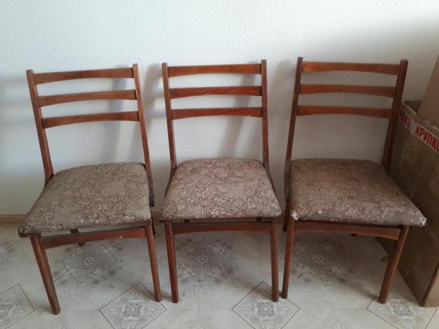 стулья из 90х😎 2шт! каждый стул по 800🅿  оба сразу за 1500🅿 при желании можно реставрировать👍 пример на последнем фото😋