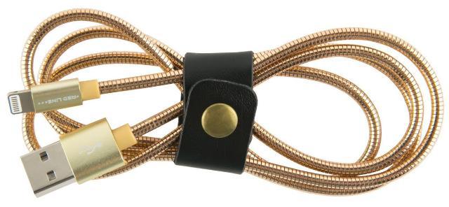 Red Line, Gold кабель Lightning-USB (1 м)