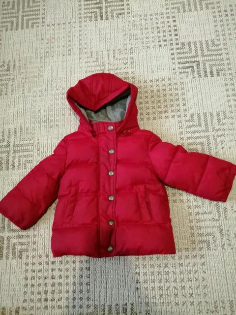 Качественная куртка, на нашу холодную осень, флис, утеплитель синтетика, красный подойдёт как мальчику, так и девочке.