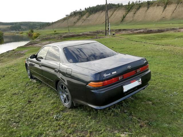 Toyota Mark II Wagon Qualis 1996