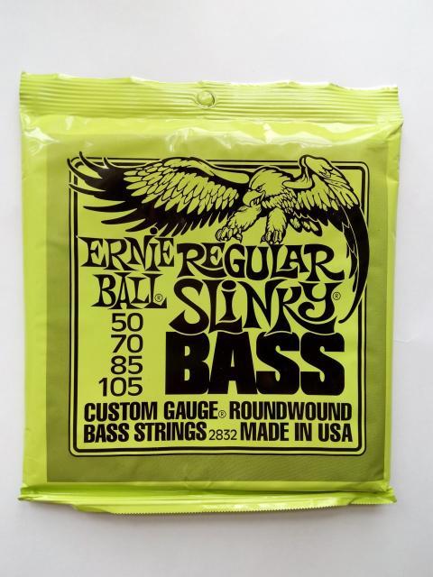 Бас-гитарные струны Ernie Ball. 4 струны в пачке. Поштучно нет. Калибры: 50-105, 45-105. Цена за пачку 2200р. Производство: США. Установка, настройка.