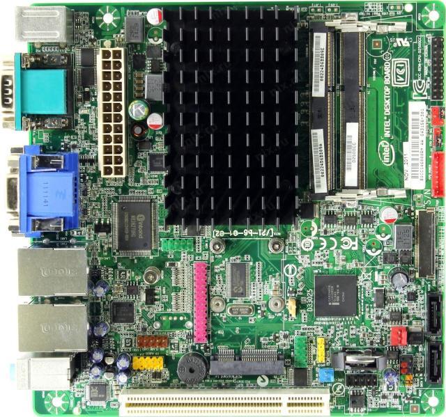 Форм-фактор платы Mini-ITX  Предустановленный процессор Intel Atom D2500 Чипсет Intel NM10 Поддержка SLI/CrossFire Память DDR3 SO-DIMM, 800-1066 МГц Количество слотов памяти 2 Максимальный объем памяти 4 ГБ количество разъемов SATA 3Gb/s: 2 Слоты расширения 1xPCI Звук 5.1CH, HDA Встроенный видеоадаптер на основе Intel GMA3600 Сеть 2x1000 Мбит/с, на основе Intel 82574L Наличие интерфейсов 7 USB, 4xCOM, D-Sub, DVI, 2xEthernet, PS/2 (клавиатура), PS/2 (мышь), LPT Разъемы на задней панели 4 USB, 2xCOM, D-Sub, DVI, 2xEthernet, PS/2 (клавиатура), PS/2 (мышь) Тип системы охлаждения пассивное  только Whatsapp Пишите по цене договоримся