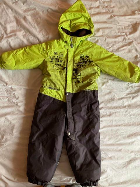 Продаю комбинезон Kerry на нашу зиму. Размер 98, но можно носить с 90-110см. 330 грамм утеплителя.