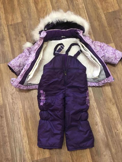 Продаю зимний костюм -тройка, на рост 86
