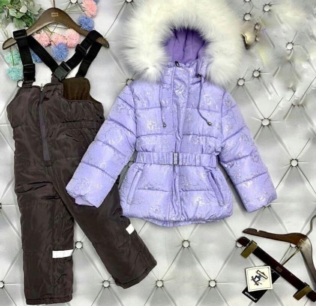 Продаю Новый  зимний комплект на девочку р74+6=80 , качество люкс , тёплый до -35, не носили ни разу
