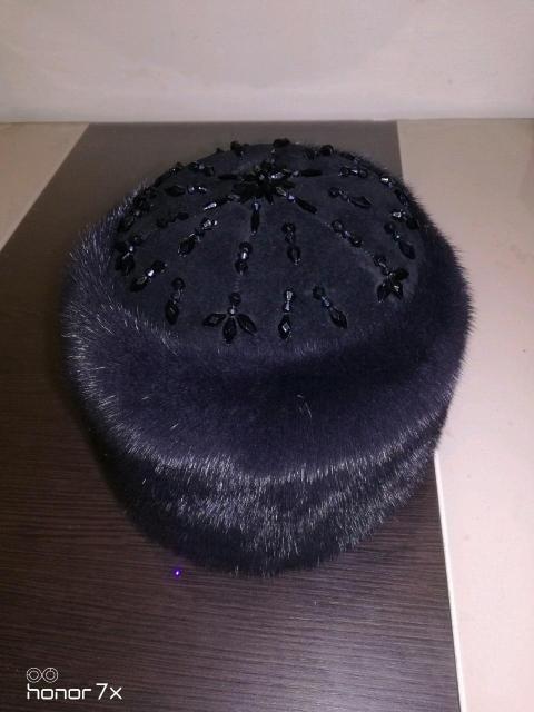 Только сегодня в связи с праздником новая норковая шапка