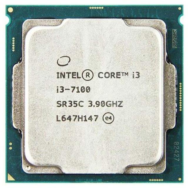 Процессор Core i3-7100 - 6000р новый