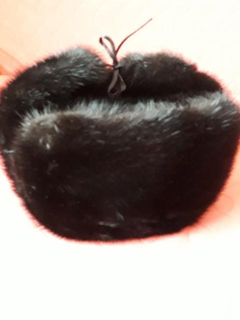 Мужская шапка ушанка ,размер 58,регулируется, в хорошем состоянии