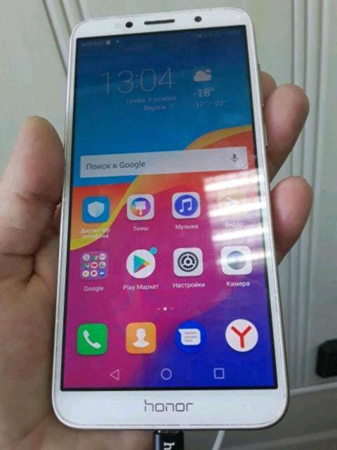 Продам Honor 7A, в хорошем состоянии, только сам телефон