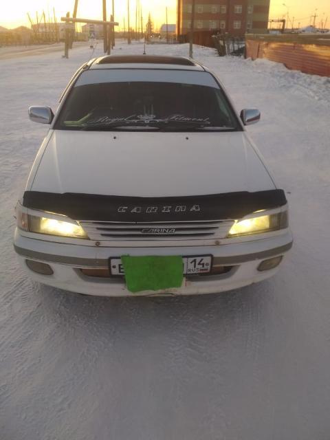 Продаю Тойоту Карину 1996г,мотор 5А,1,5 л, мотор коробка хтс,цена 160 т,р.,торг.