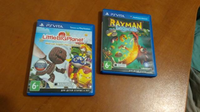 Продаю диски с играми для Playstation Vita (PS Vita) по 500р за штуку
