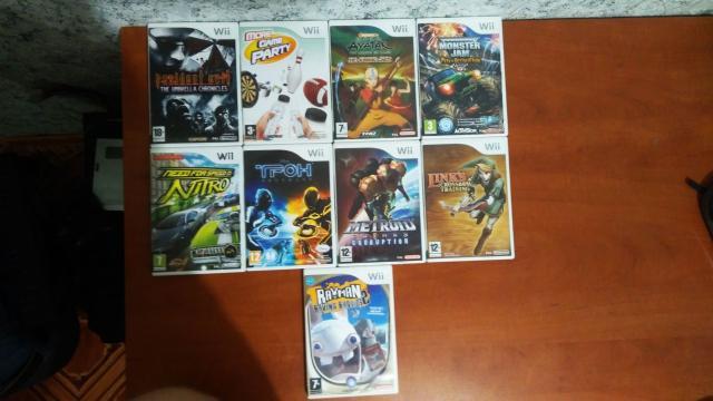 Продаю диски с играми для Nintendo Wii (регион PAL) Цена: 500р за диск