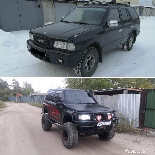 Продажа Обмен 2 на 1   Opel Frontera он же ISUZU WIZARD, Honda Horizon, Isuzu Trooper, Isuzu MU, Nissan Terrano, Isuzu Bighorn. Все запчасти подходят! 94г.в. V-2.4 бензин МКПП (Механика) хабы 4WD механическая раздатка, ГАЗ 3 поколения баллон 90л. Сигнализация, музыка, багажник, фаркоп. 225т.р.  Suzuki Escudo 92г. в. V-1.6 АКПП, покрыт раптором, люк, 33 колса, лебдка 6 тонн,подогрев двигателя 220v 345т.р.