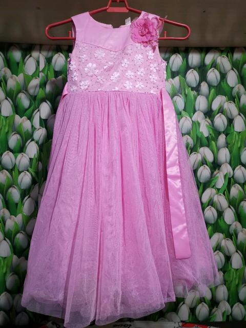 Продам нарядное платье в пол. Цвет розовый, размер 30.Самовывоз.